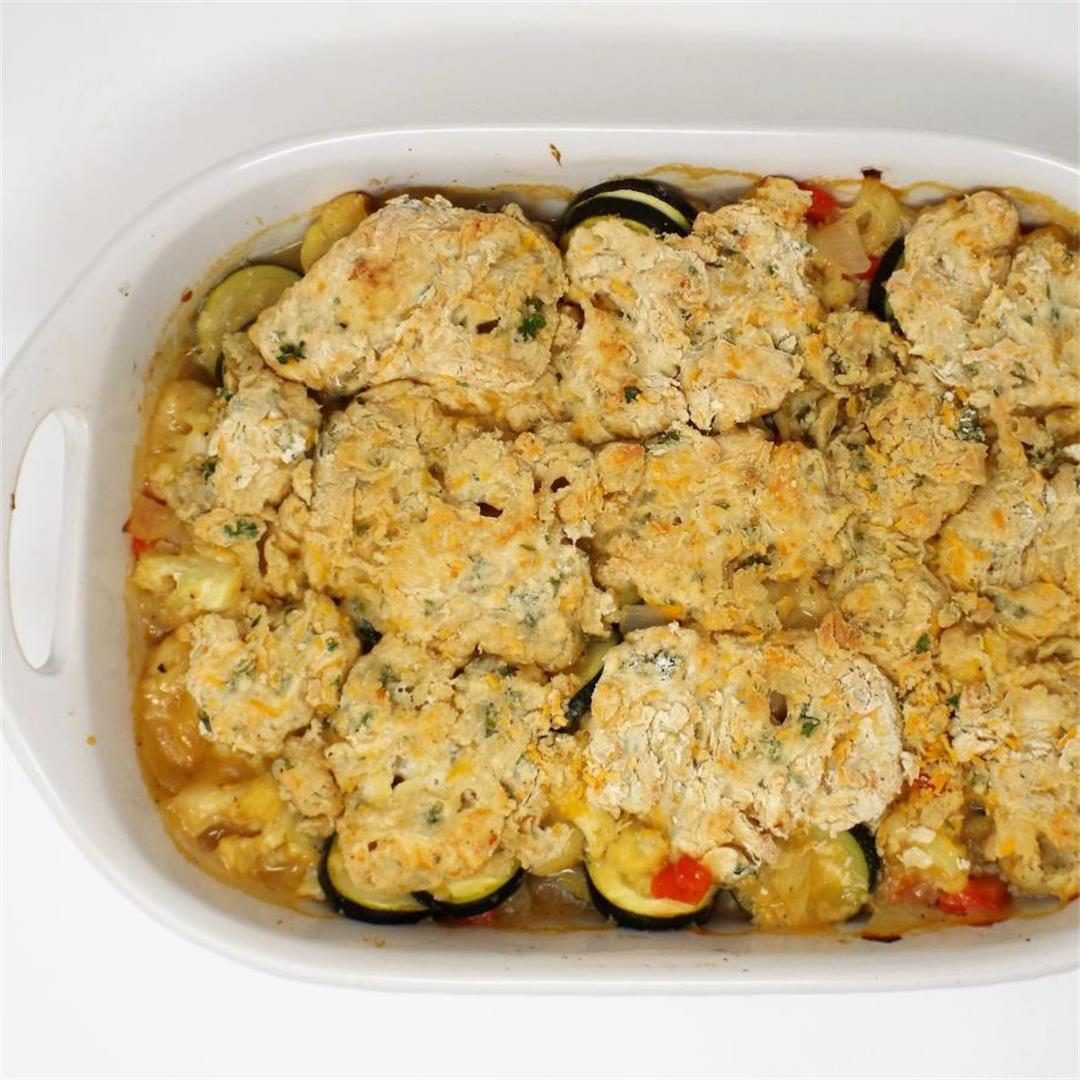 Savory Vegetable Cobbler