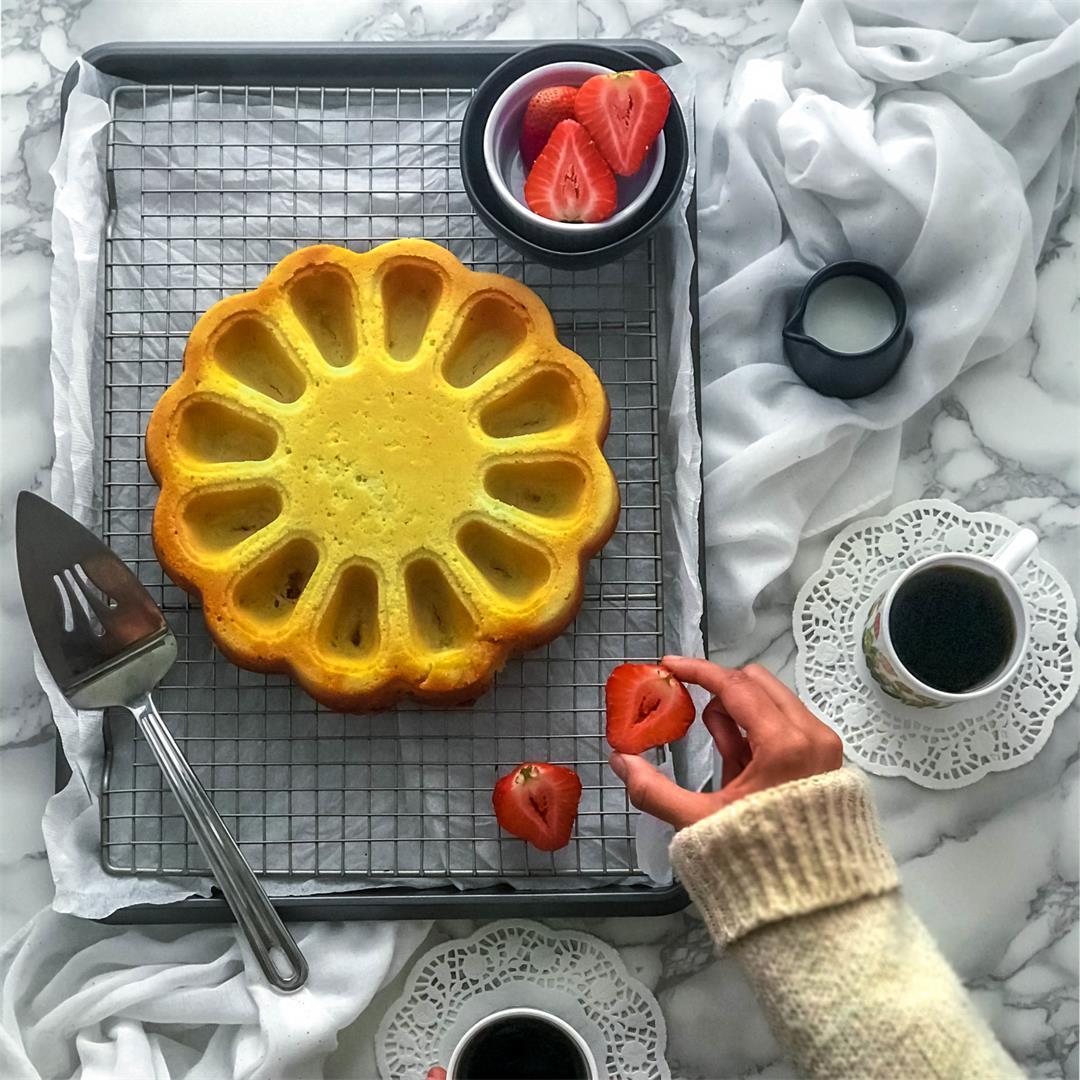 Coconut Cream Poundcake