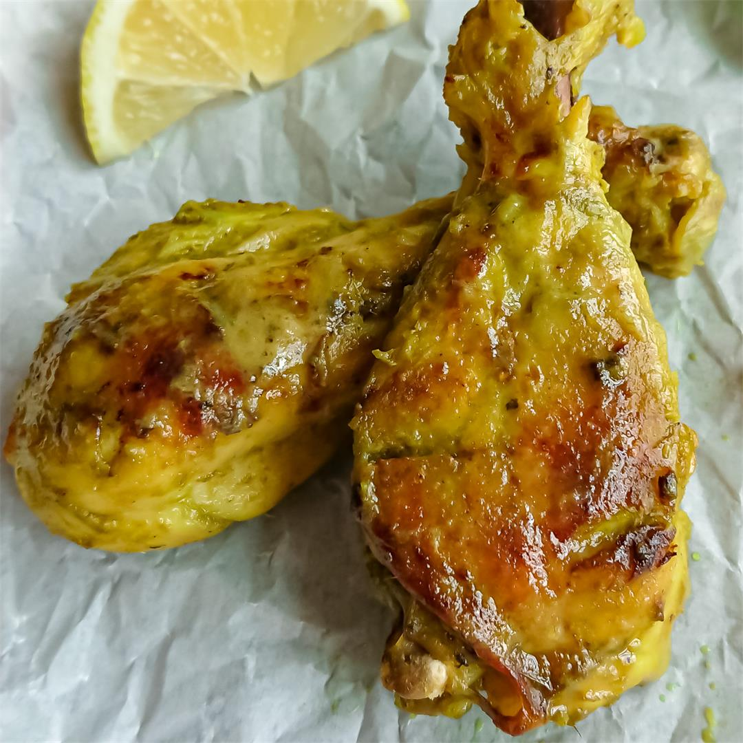 Easy oven-baked chicken drumsticks recipe
