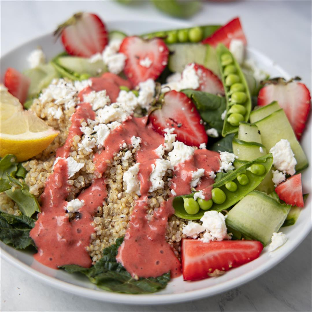 Strawberry Summer Quinoa Salad