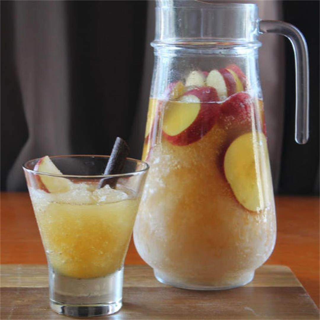 Apple Brandy Frozen Punch