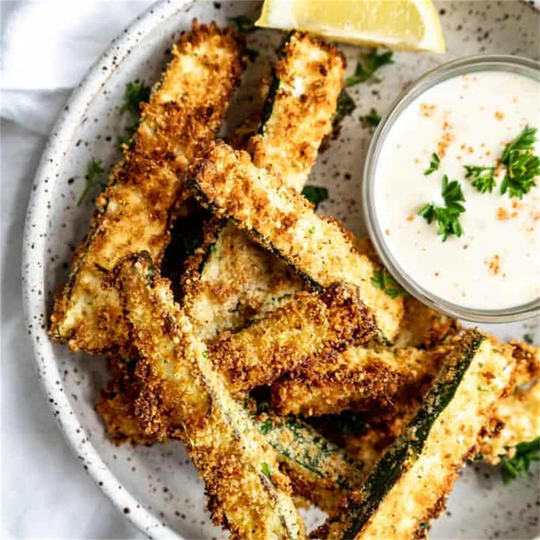 Air Fryer Zucchini Fries
