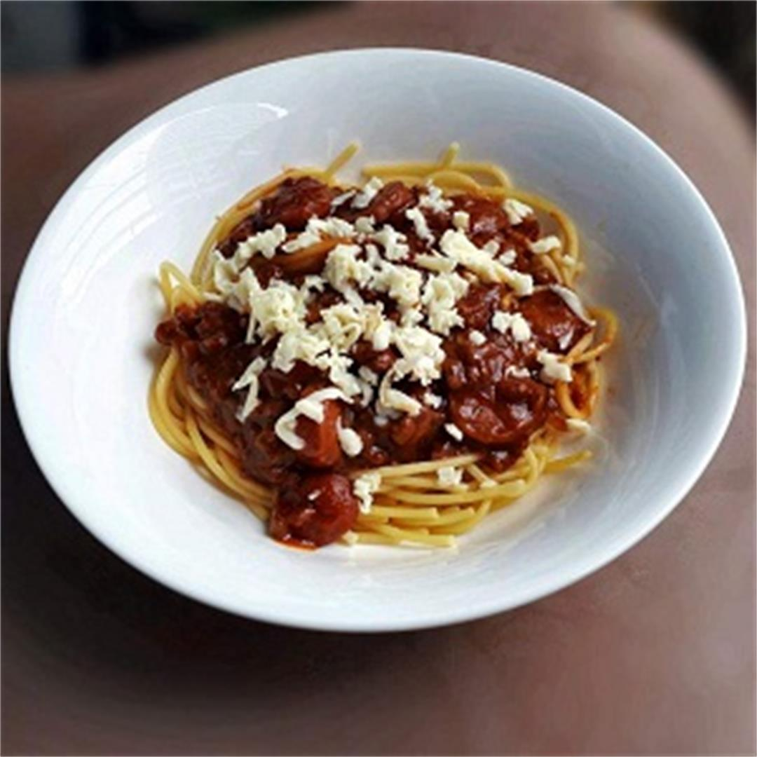 Filipino Style Spaghetti Recipe