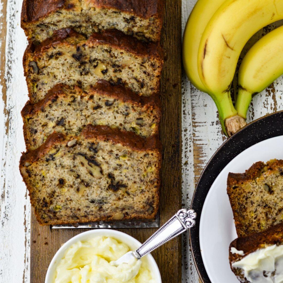 Old Fashioned Easy Banana Nut Bread