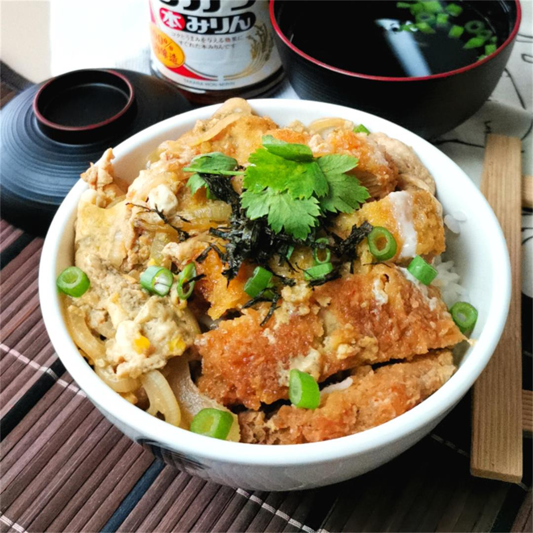 Chicken katsudon (カツ丼)- How to prepare (quick and easy recipe)
