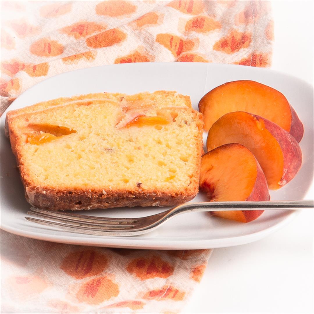 Peach Poundcake