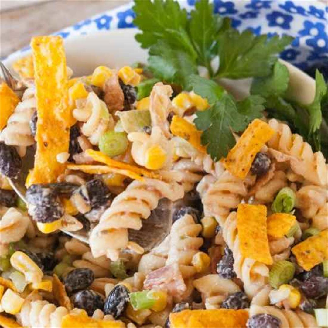 Barbecue Ranch Pasta Salad