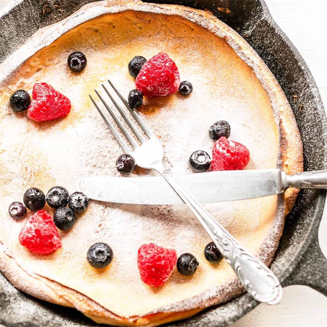 Sweet Dutch Baby pancake