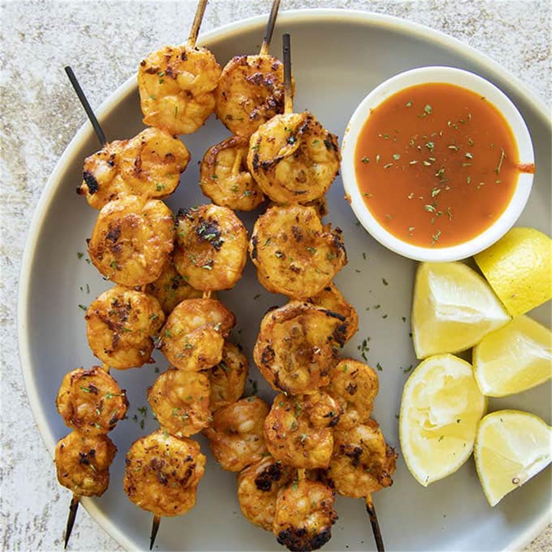 Favorite Grilled Shrimp