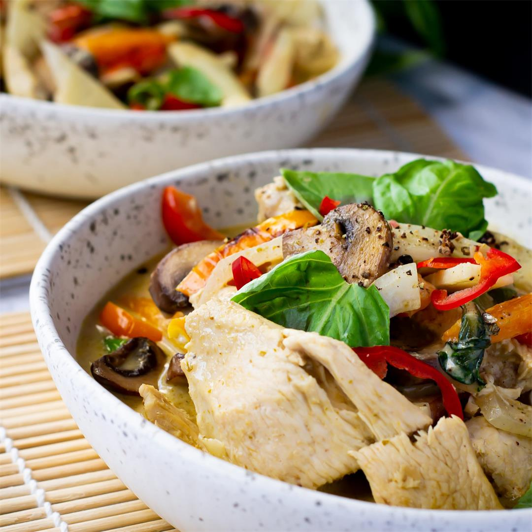 Thai Green Chicken Coconut Curry