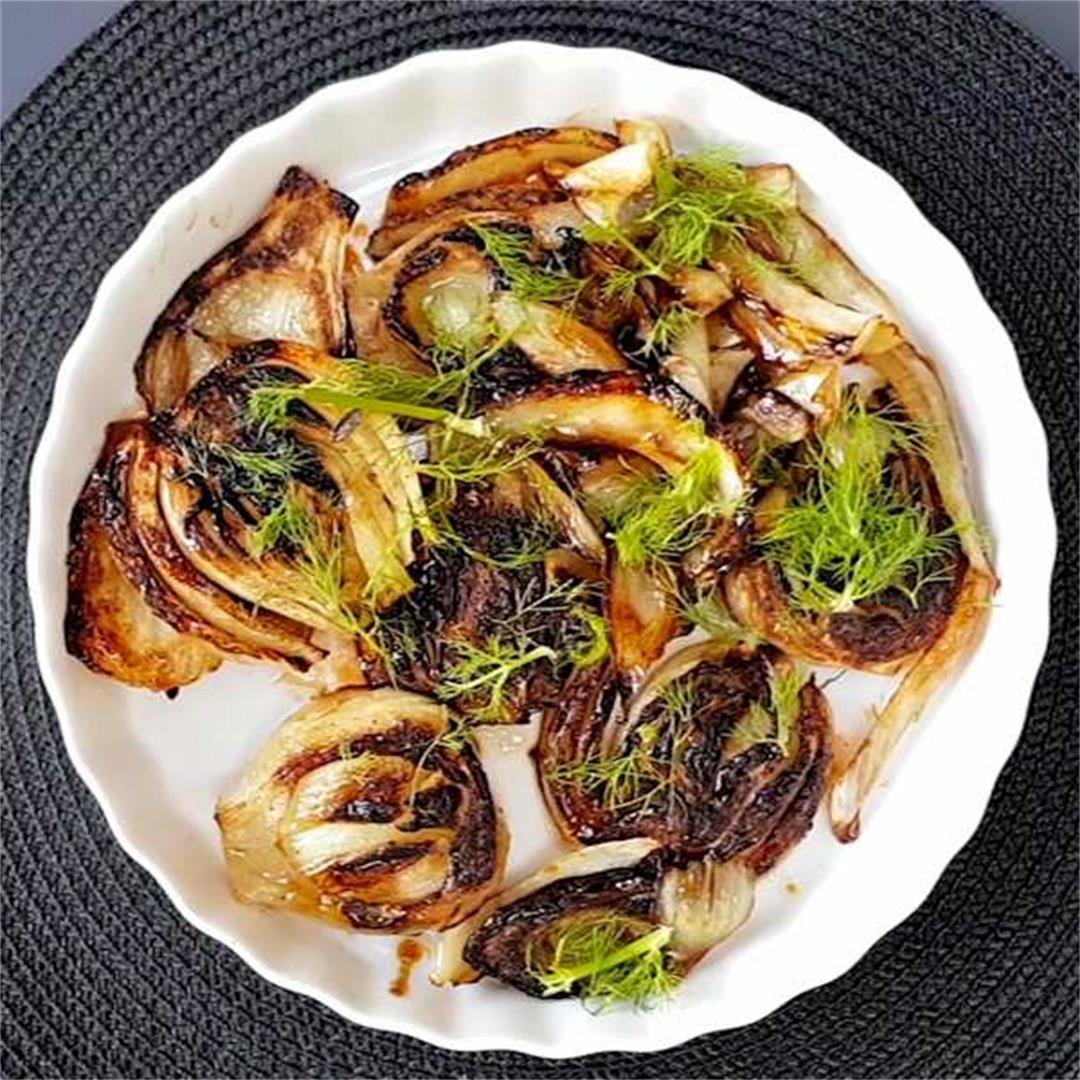 caramelised fennel