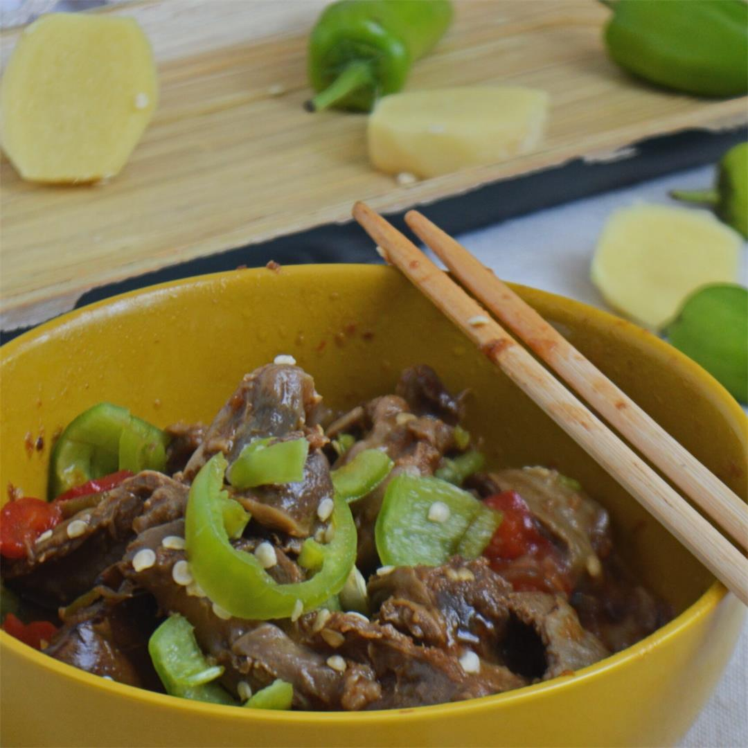 Asian Style Chicken Gizzards — Tasty Food for Busy Mums