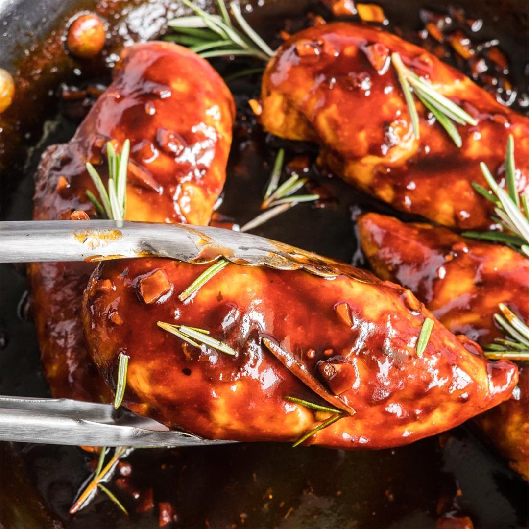 Balsamic Glazed Chicken (aka
