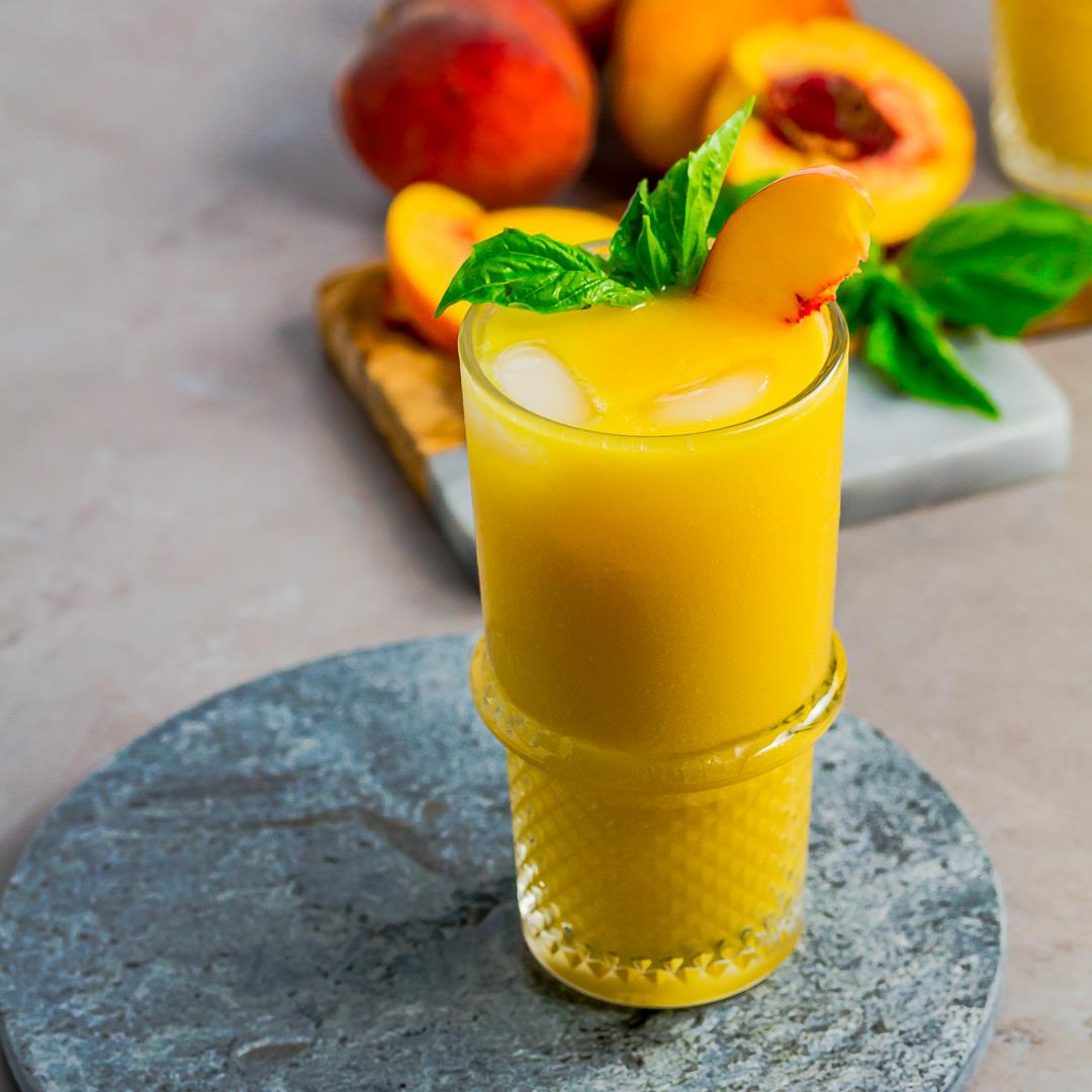 Tropical Peach Mango Rum Punch