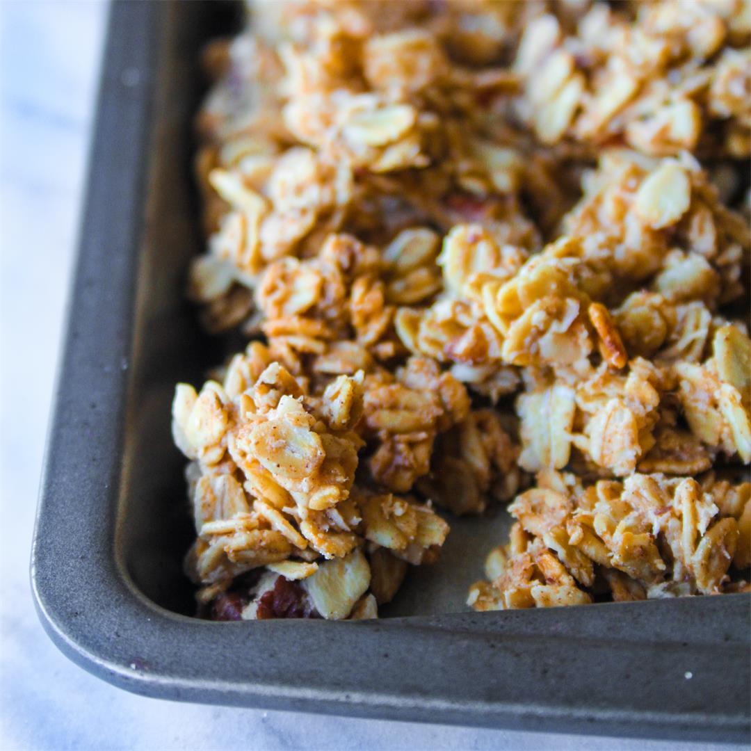 Healthy Macadamia Cashew Granola