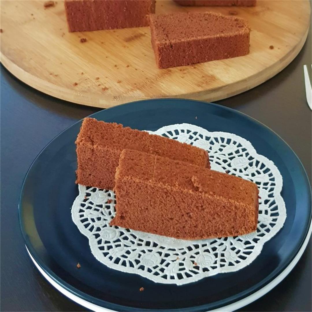 Eggless Butterless Chocolate Cake % |% PLATE TO PALATE