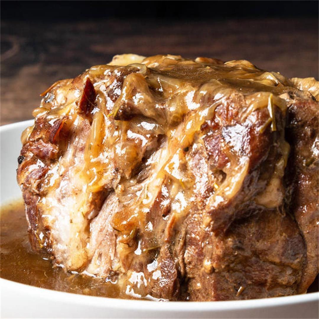 Instant Pot Garlic Butter Pork Shoulder