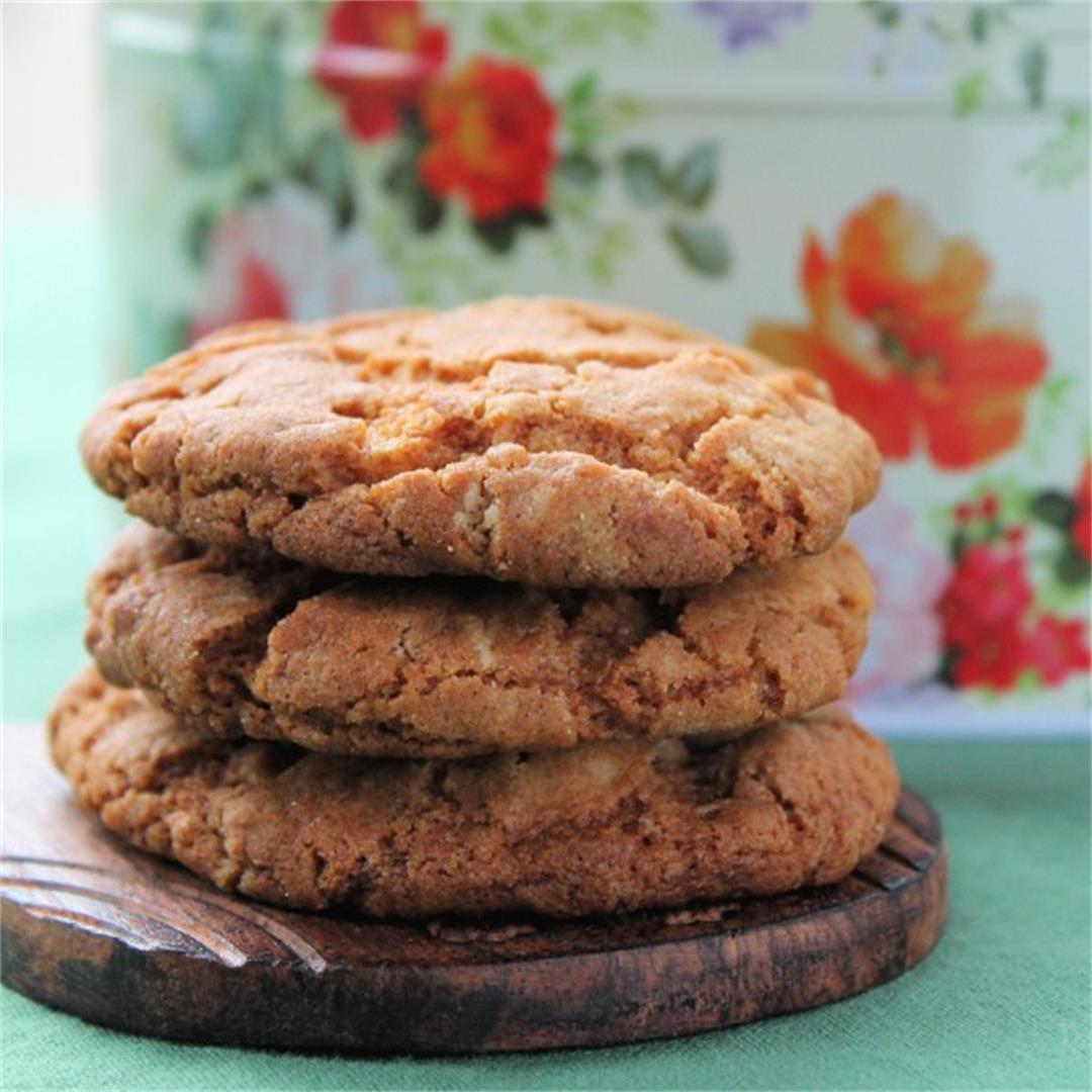 Stem Ginger Biscuits