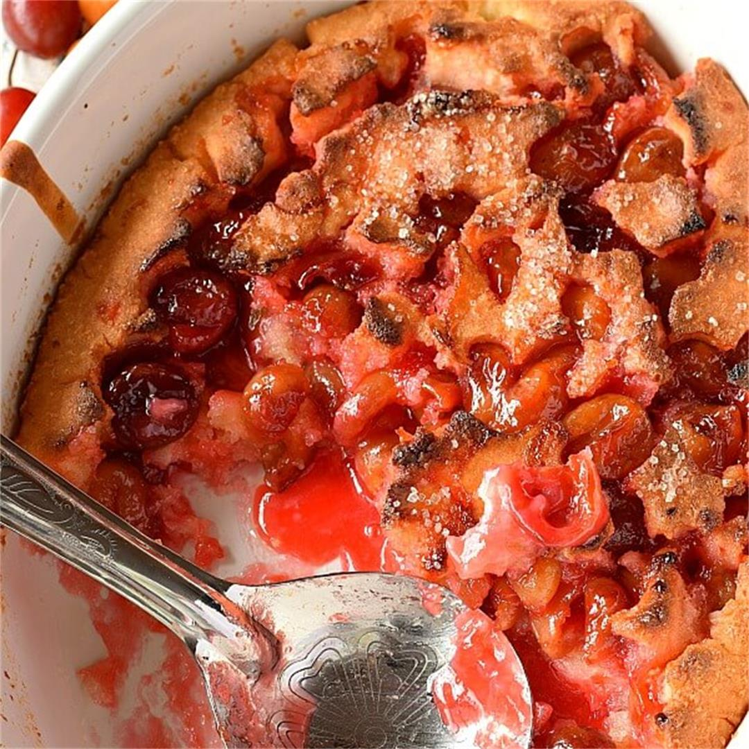 The Best Cherry Cobbler Recipe Of All Time