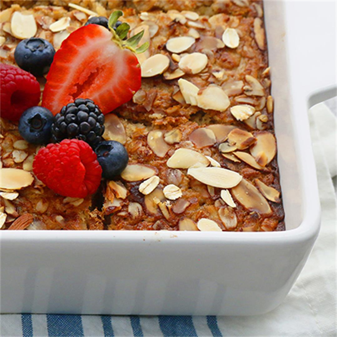 Very Healthy Baked Oatmeal