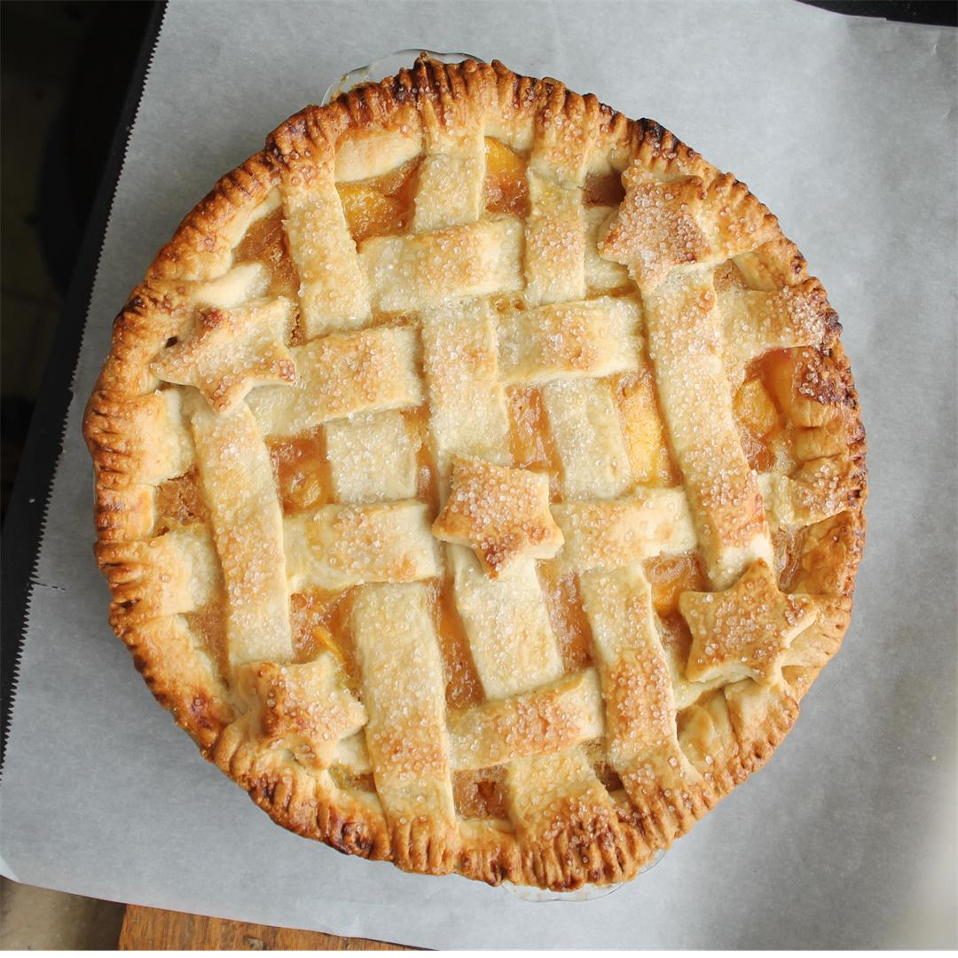 Ina Garten's Perfect Peach Pie