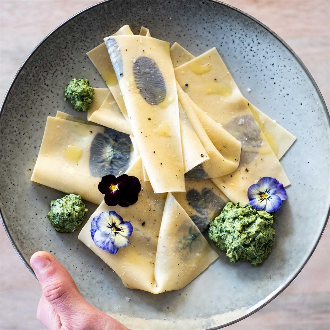 Fazzoletti with Pesto