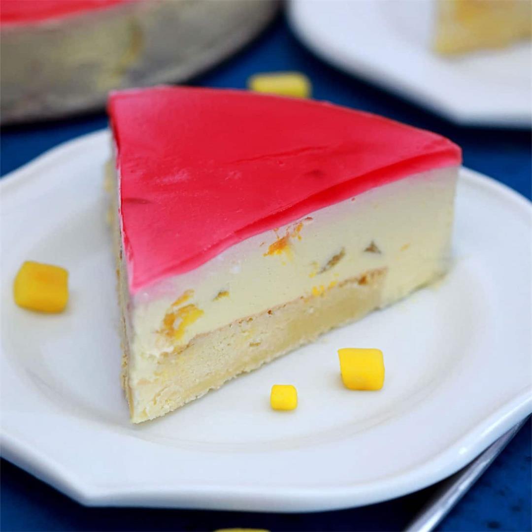 Best Mango Mousse Cake