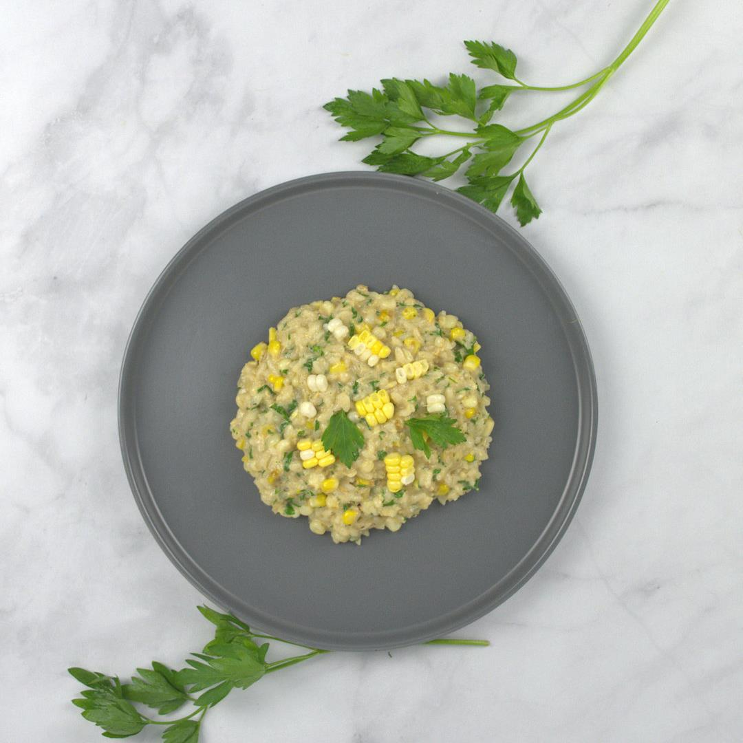 Fresh Corn Risotto – A Gourmet Food Blog