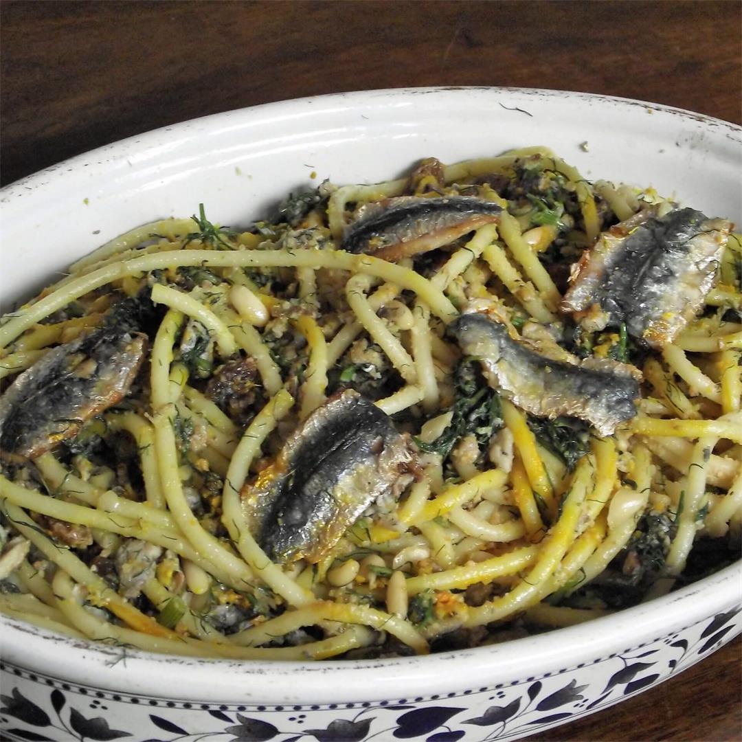 Pasta with sardines recipe