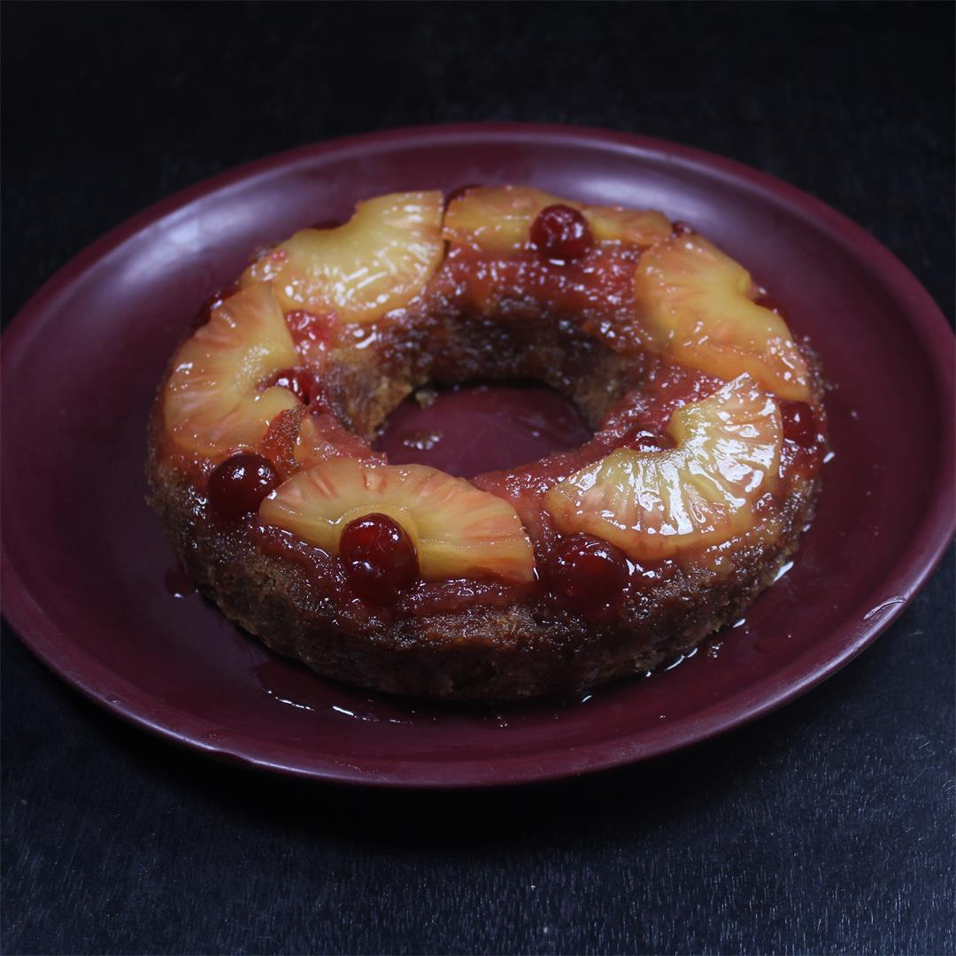 Pineapple Upside Down Cake – Food Opium
