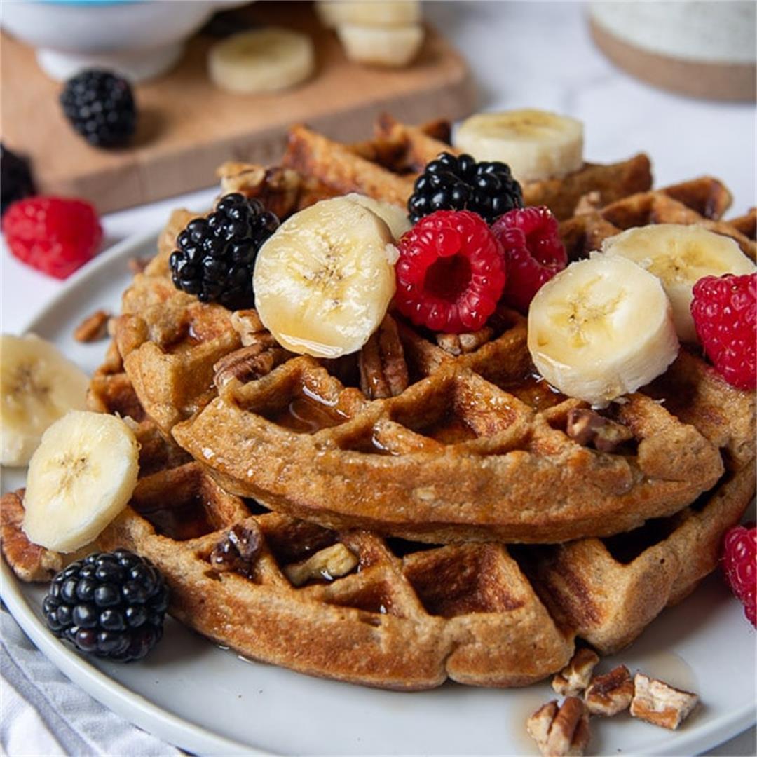 Flourless Gluten Free Waffles