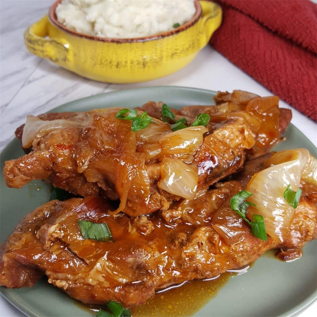 Pressure Cooker Korean Style Barbecue Country Pork Ribs