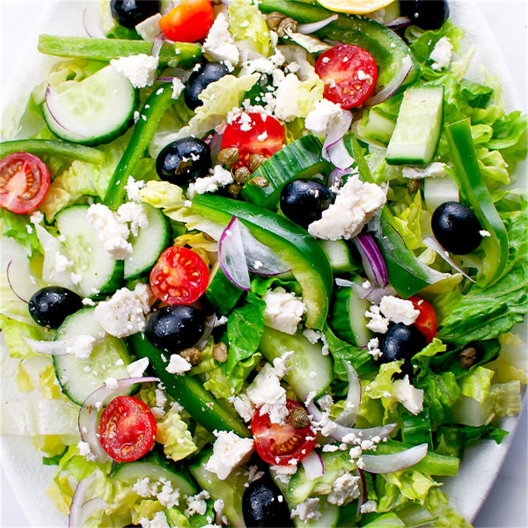 Greek Chicken Salad (Simple, Quick, Gluten Free) - Key To My Li