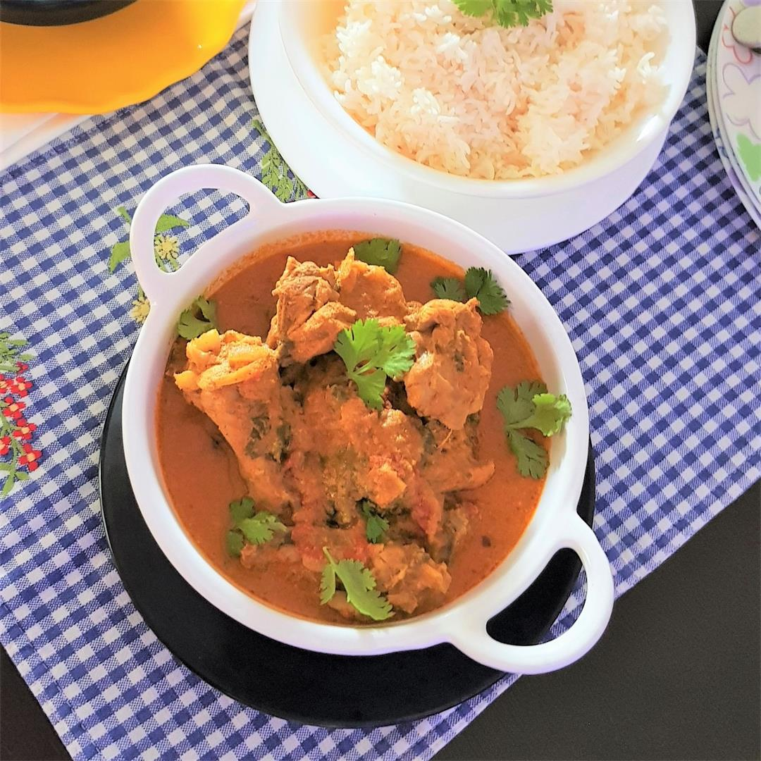 Easy Chicken Kurma/ Easy Chicken Curry(One Pot)