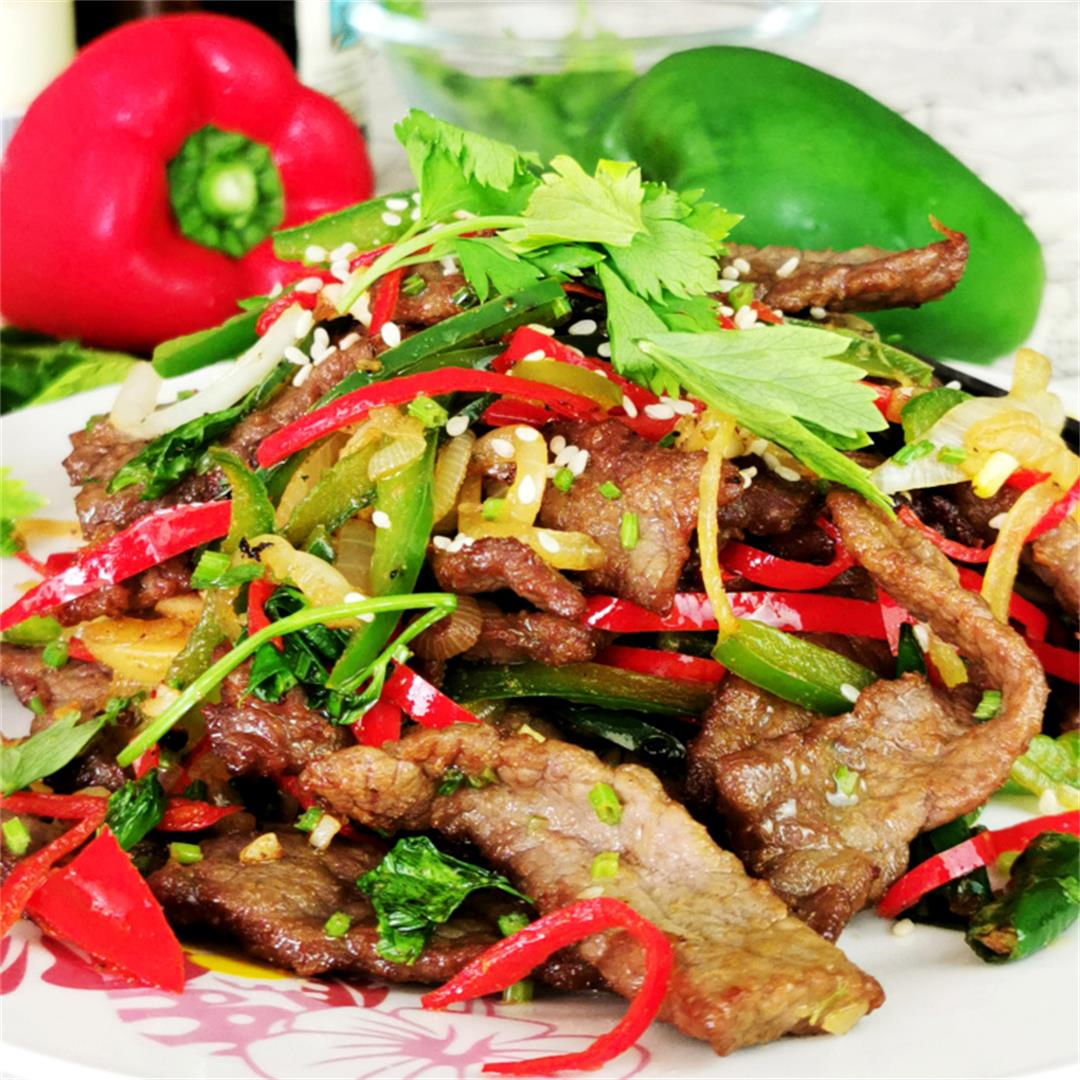 Hunan Beef With Cumin How To Cook Spicy And Delicous Beef