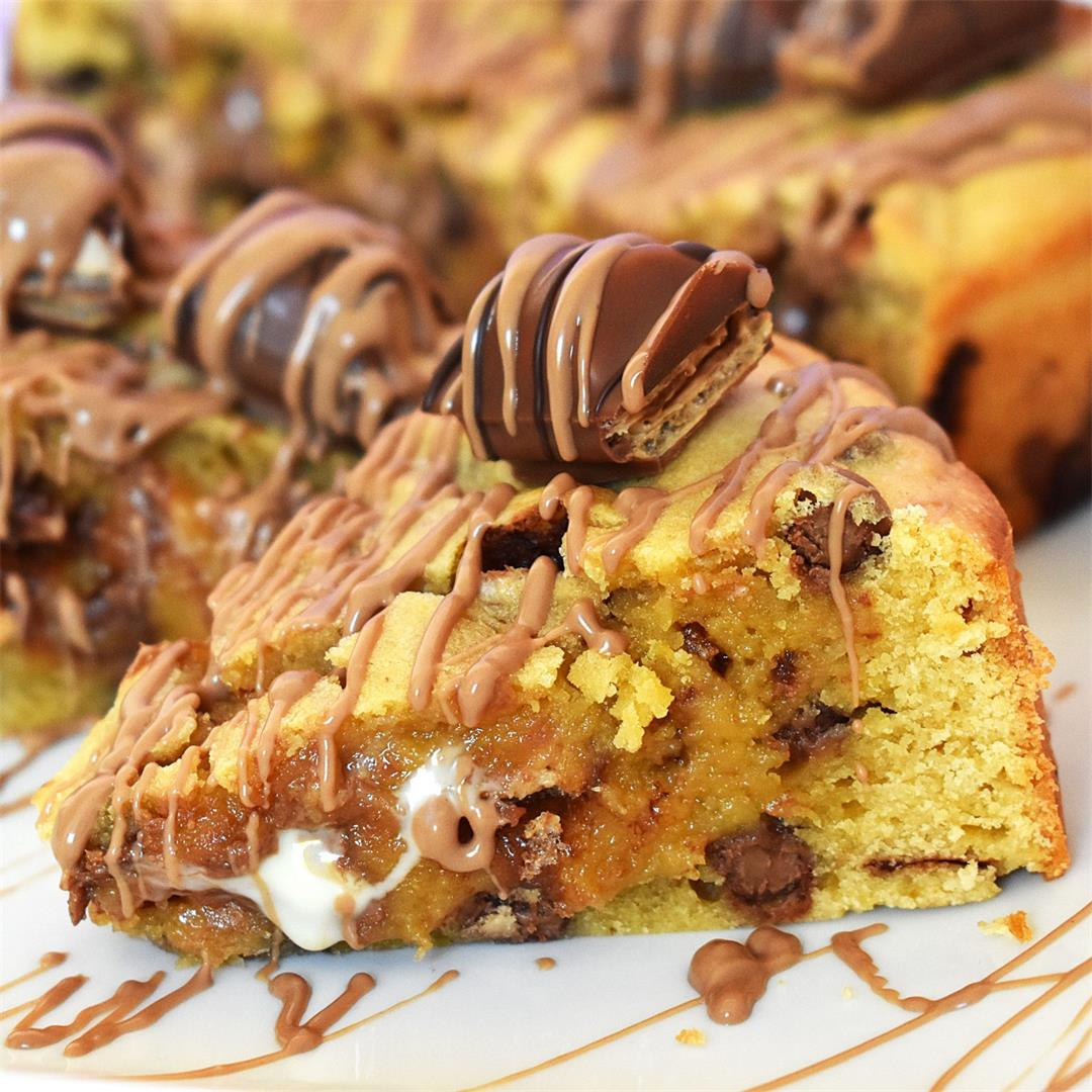 Kinder Bueno Cookie Pie