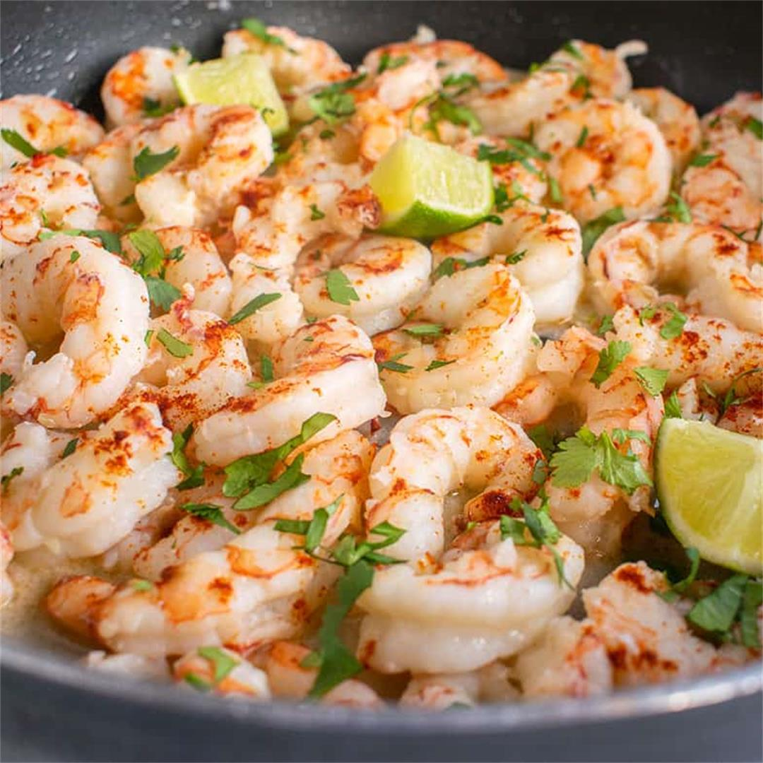 Easy Cilantro-Lime Shrimp