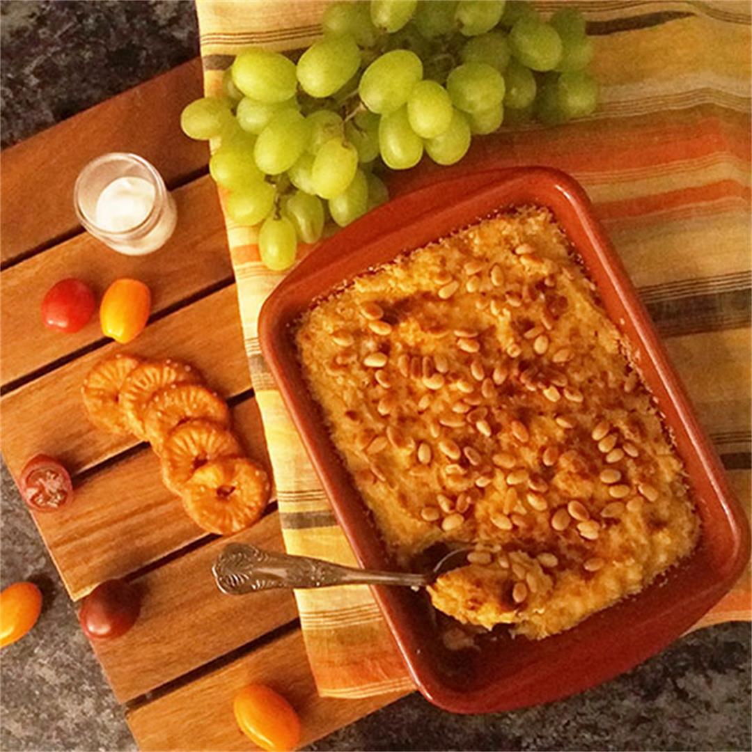 Mediterranean Hummus Bake Recipe