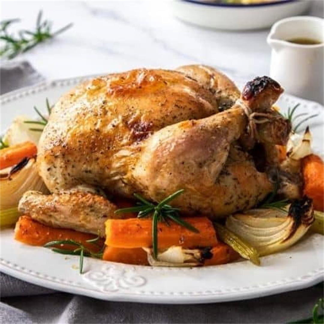 The Perfect Roast Chicken - It's Not Complicated Recipes
