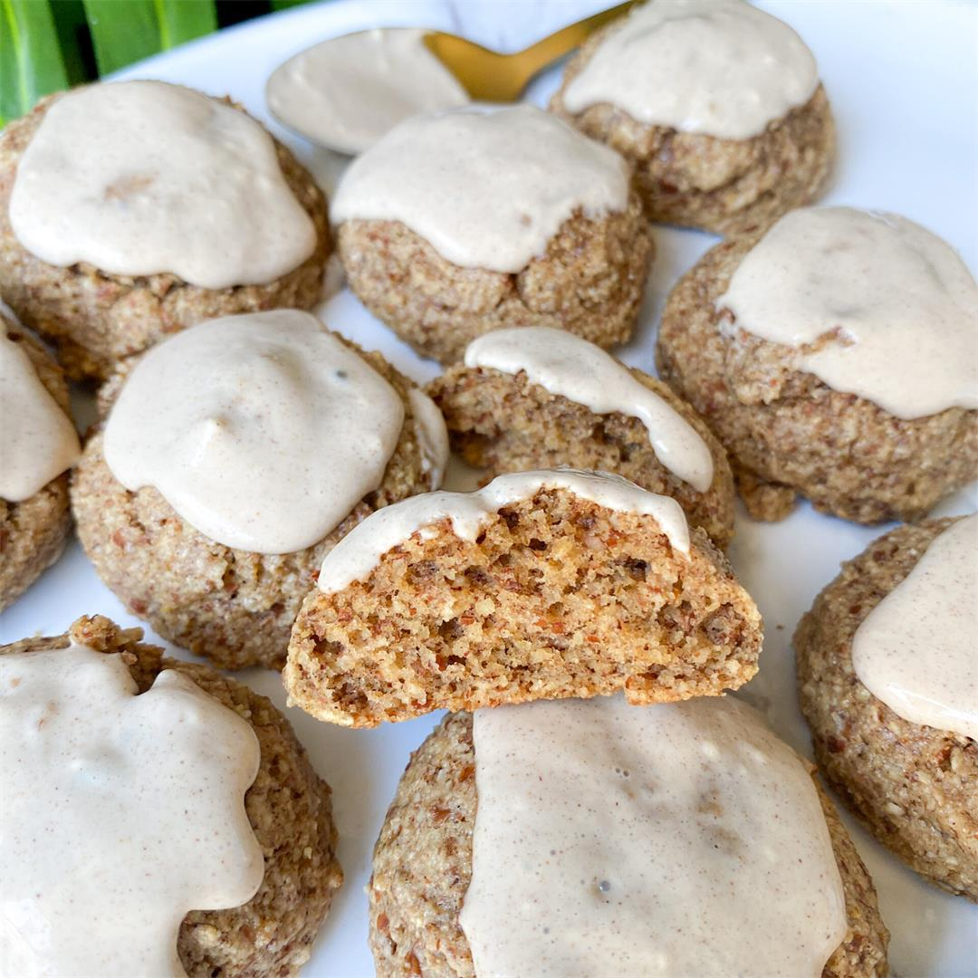 Healthy Cinnamon Roll Cookies