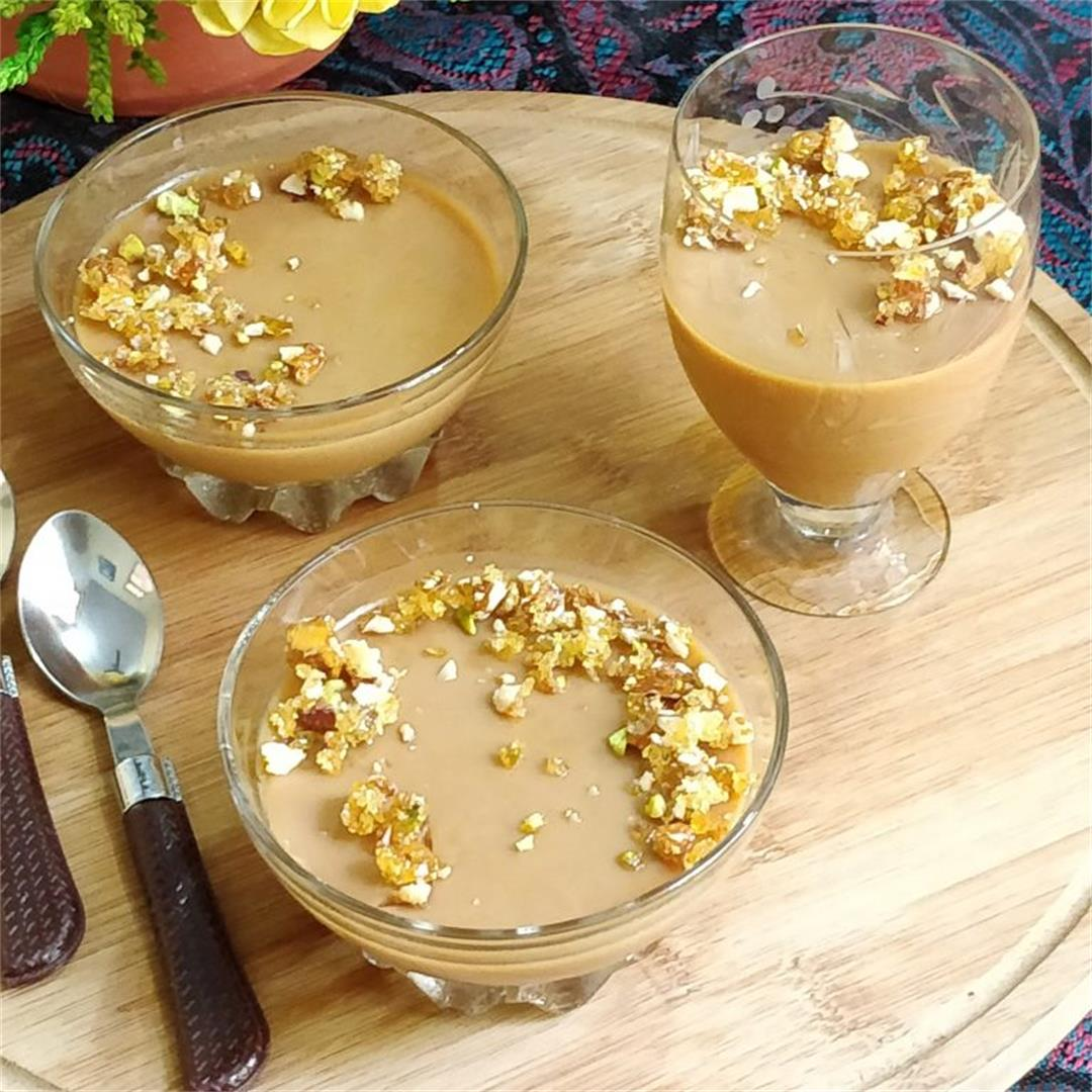 Caramel Panna Cotta Dessert
