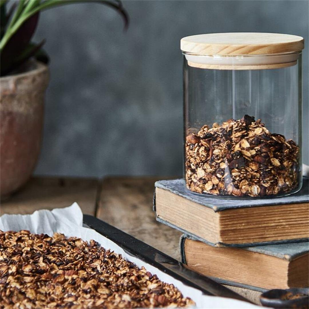 Gluten Free Chocolate Granola Recipe