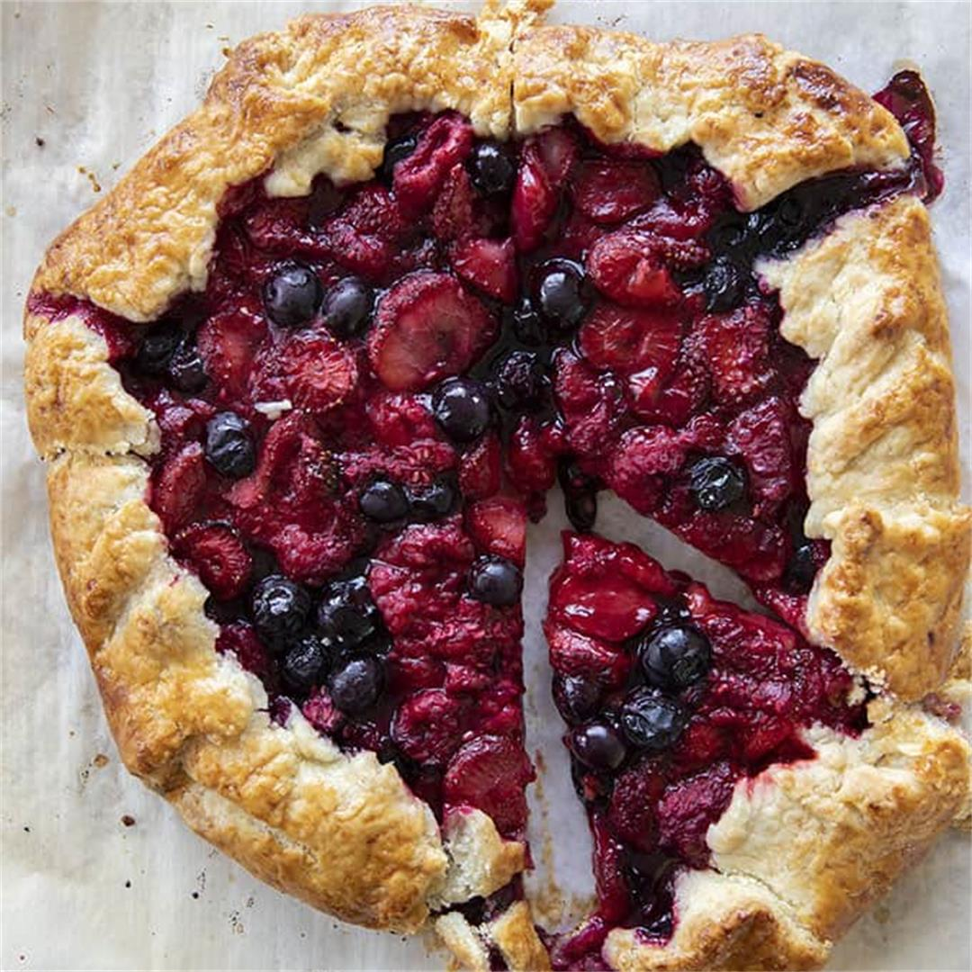 Easy Fruit Galette