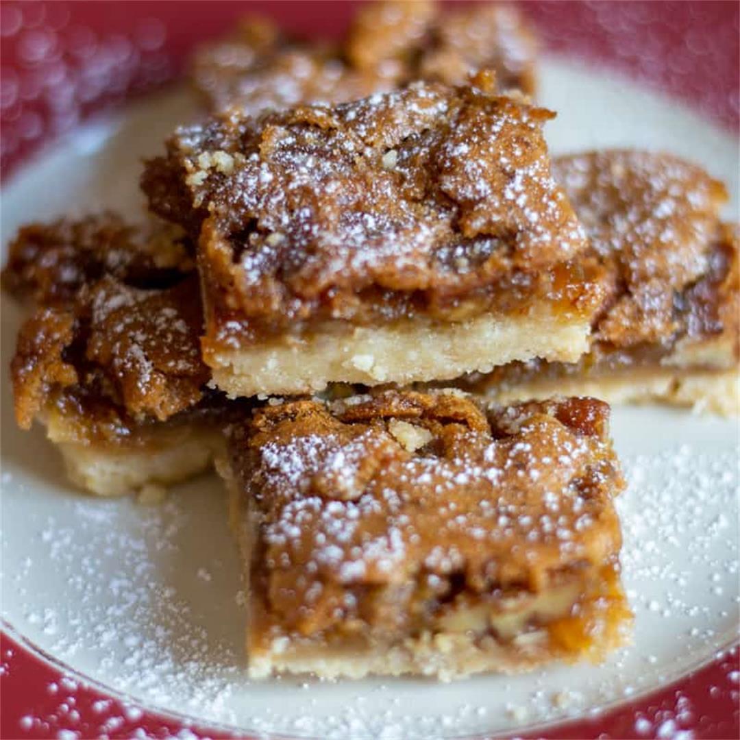 Pecan Butter Tart Squares