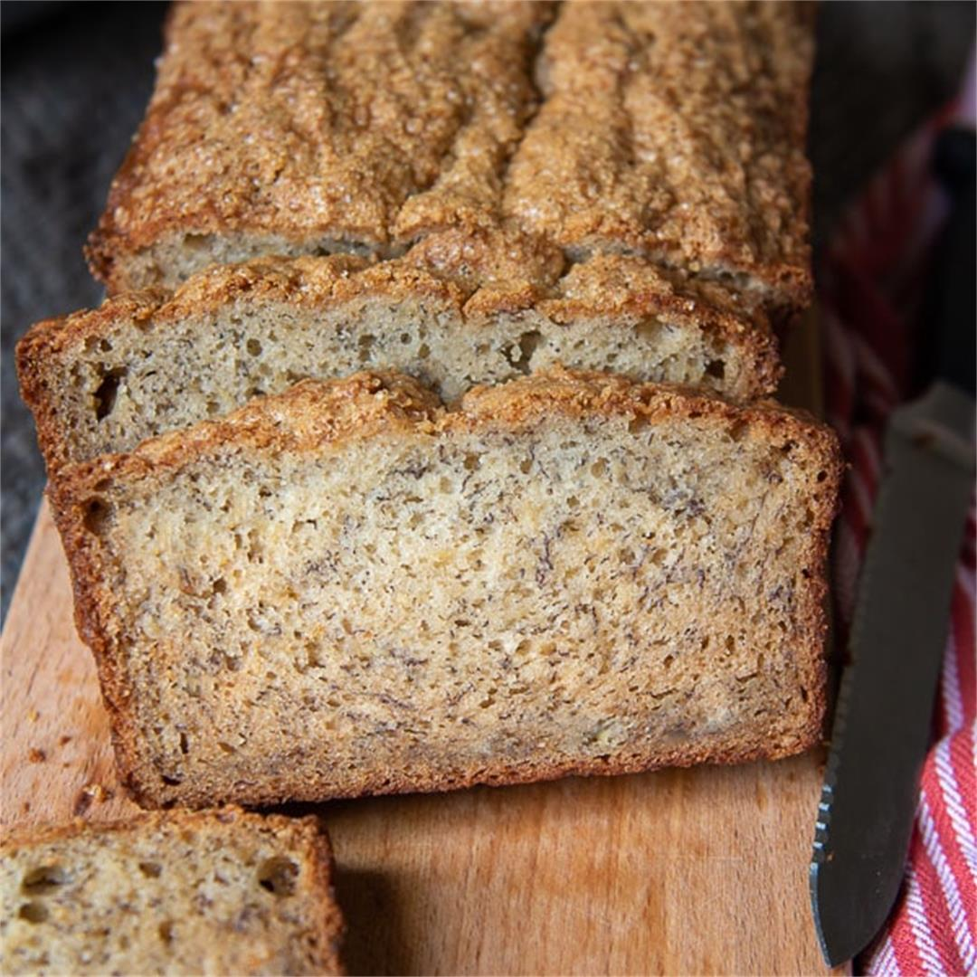 Moist Gluten Free Banana Bread