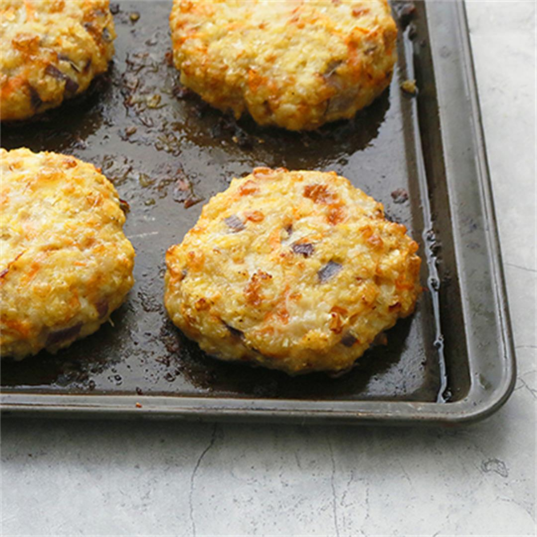 Healthy Chicken Burger Patties
