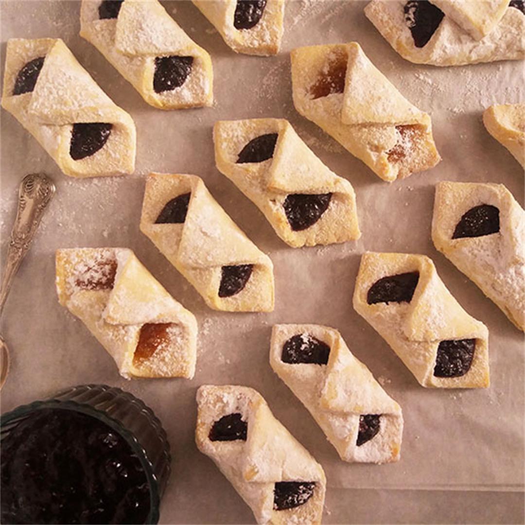 Grandmother's Jam Filled Lard Cookies