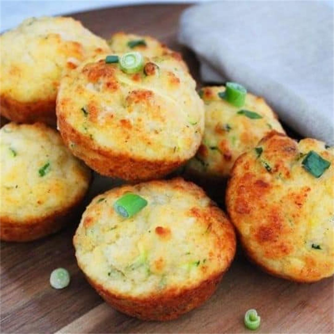 Gluten-Free Zucchini Muffins - It's Not Complicated Recipes