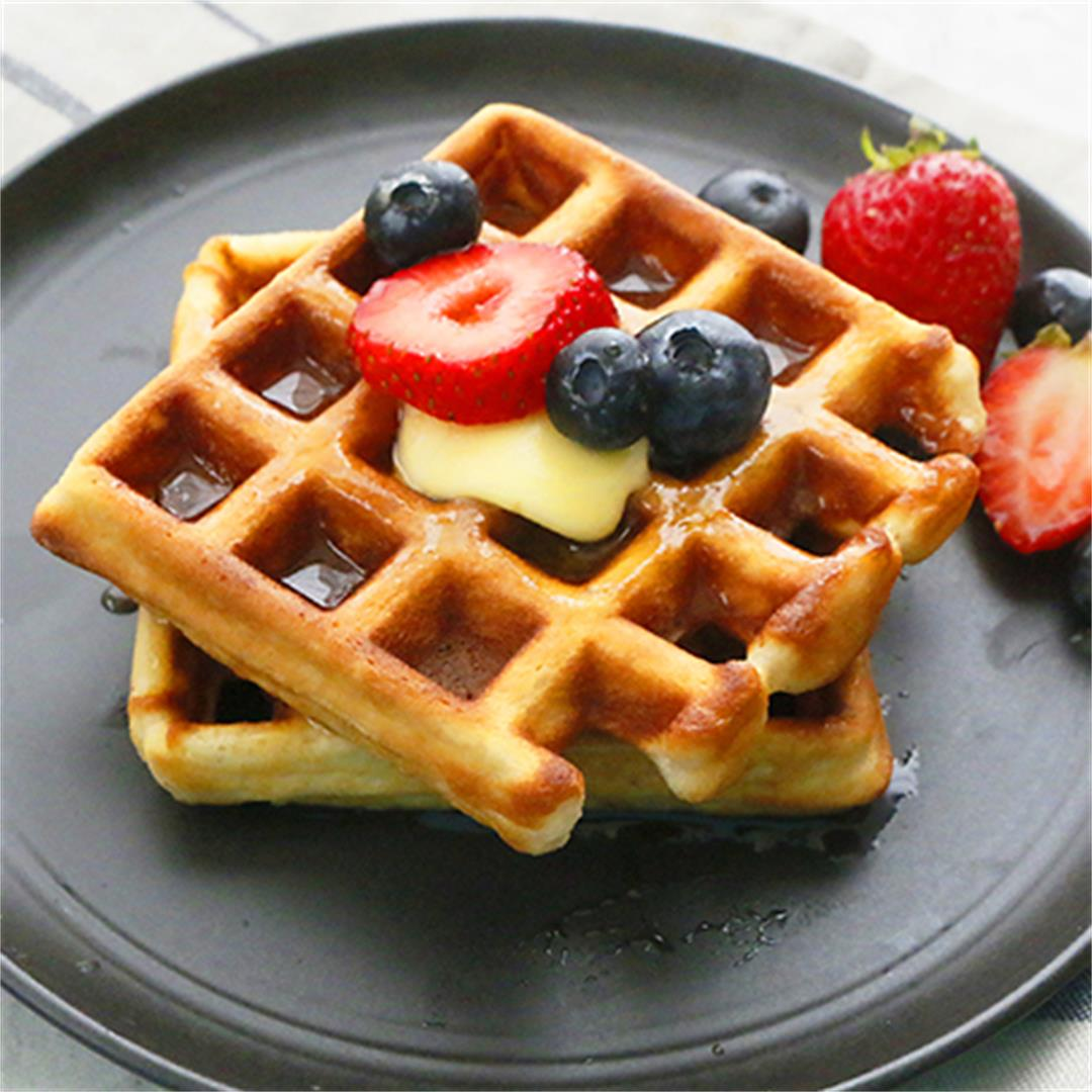 Best Belgian Waffles Recipe
