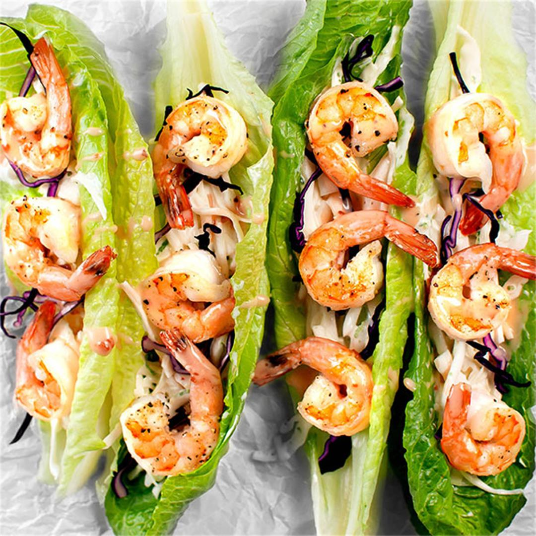 Bang Bang Shrimp Tacos (Gluten Free, Easy, Amazing) - Key To My